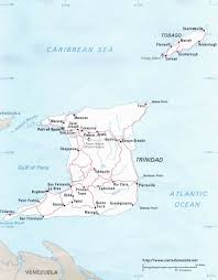 Trinidad Map Map Trinidad And Tobago Country Map Trinidad And Tobago