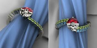 pokeball engagement ring pokeball engagement ring gotta catch the one ohgizmo