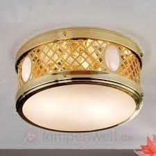 Esszimmer Lampe Messing Bildschöne Deckenleuchte Alt Wien Messing Kaufen Lampenwelt De