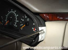 mercedes benz w210 instrument cluster bulb replacement 1996 03