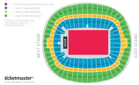 Centre Bell Floor Plan Wembley Stadium London Events U0026 Tickets Map Travel U0026 Seating