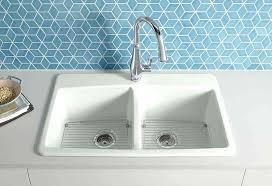 kohler cast iron kitchen sink cast iron white kitchen sink kohler cast iron single basin kitchen