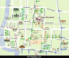 bangkok map tourist attractions bangkok map tourist attractions holidaymapq