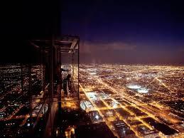 willis tower chicago willis tower ledge night urbanmatter