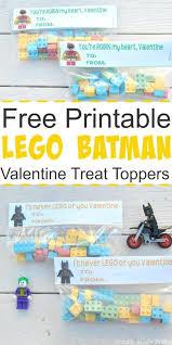 free printable lego batman valentine treat toppers simple