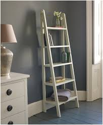 Bookcase With Ladder by Ana White Leaning Ladder Shelf Jessie White Wide Leaning Bookcase