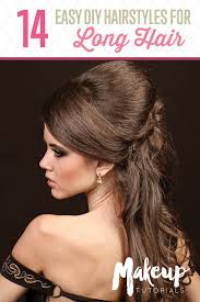 basic hairstyles for easy formal hairstyles for long hair diy