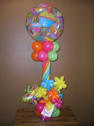 balloon bouquet column bouquet design
