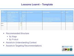 lessons learned report template lessons learned process a strawman lessons learned to