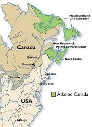 map of atlantic canada and usa atlantic salmon