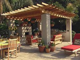 Inexpensive Covered Patio Ideas Triyae Com U003d Nice Backyard Patios Various Design Inspiration For