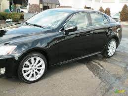 obsidian black color 2007 obsidian black lexus is 250 awd 3629948 gtcarlot com car