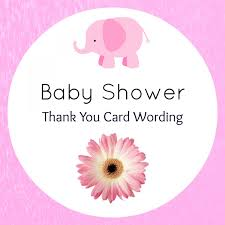 thanksgiving card wording baby shower thank you wording hostess confetti u0026 bliss