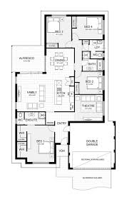 104 best house floor plans images on pinterest house floor plans simple house floor plan alter to u shape