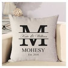 personalized pillow personalized pillows you will these home and textiles