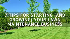Mowing Business Cards 7 Tips For Starting And Growing Your Lawn Maintenance Business