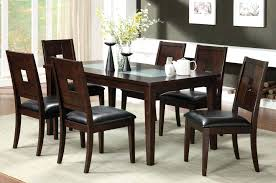 Black Extendable Dining Table Walnut Dining Table And 6 Chairs U2013 Zagons Co