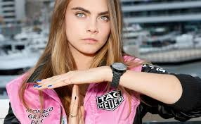 tag heuer ads photo collection cara delevingne tag heuer