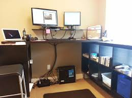 amazing home office standingskcorating inspiration of diy stand up