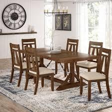 laurel foundry modern farmhouse destiny 7 piece dining set