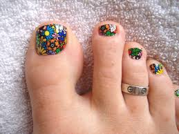 10 nail art ideas for your toes toe toe nail art and toe nail