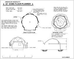 dome homes floor plans geodesic dome home plans aidomes