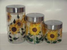 sunflower kitchen canisters sunflower plates with display rack shop nwf