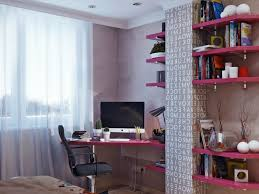 furniture chic bookshelf with desk offers modern design for your