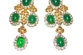 Chandelier Earrings Unique Chandelier Earrings 60s Kjl Chandelier Earrings Sarara Couture