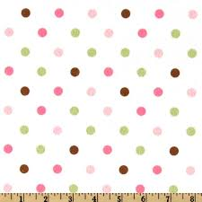 yellow with pink polka dots cozy cotton flannel polka dot pink discount designer fabric
