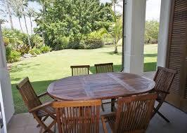table and chair rentals big island mauna lani islands 3br condo k1 vacation rental in kamuela