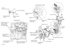 1995 honda accord serpentine belt routing and timing belt diagrams