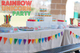 cheap party supplies interior design awesome rainbow themed birthday party