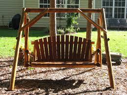 log porch swing plans u2014 jbeedesigns outdoor log porch swings cheap