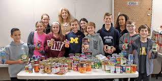 wantagh middle school pays it forward on thanksgiving herald