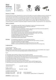 Information Security Manager Resume Contract Security Guard Cover Letter