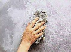 Concrete Faux Paint - the wall is like a painting fabulous home pinterest