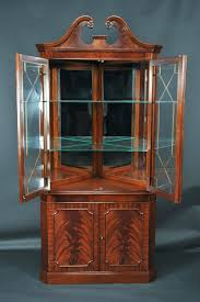 contemporary corner cabinets dining room glass antique cabinet