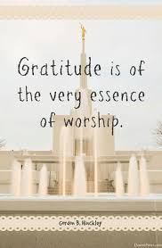 president gordon b hinckley attitude of gratitude 25 quotes