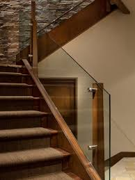 Glass Stairs Design Captivating Glass Stairs Design Houzz Glass Stair Railing Design