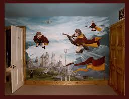 http oneredshoe co uk images muralport harry potter mural jpg wonderful harry and friends wall murals bedroom