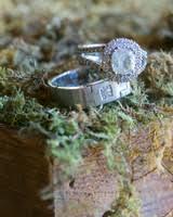 Country Wedding Rings by A Whimsical Wine Country Wedding Martha Stewart Weddings