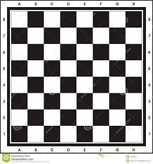 chess board print u0026 play royalty free stock photo image 4438435