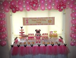 1st birthday party themes minnie mouse birthday party ideas minnie mouse birthday party