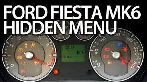 2003 ford focus instrument cluster lights how to enter hidden menu in ford fiesta mk6 service test mode