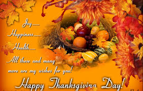many blessings to you on this thanksgiving day description from
