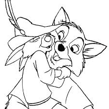 love robin hood coloring pages place color
