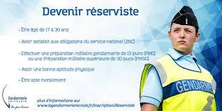 bureau de recrutement gendarmerie gendarmerie de la réunion recrute des réservistes