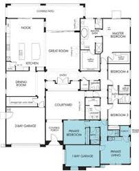 house plans with apartment house with 3 car garage and in apartment multi