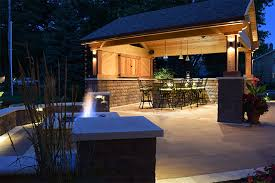 Patio Outdoor Lighting Outdoor Landscape Lighting Solutions In Fishers Indiana